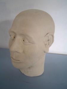 Finished Greenware Head II