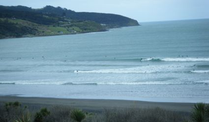 Ngaranui Beach yesterday