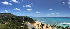 View from hotel Waikiki