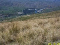 Roxburgh viewed from near top of Bullock Track