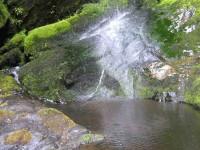 Pool at foot of Weka Waterfall.