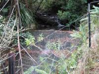 Upper of three water supply weirs