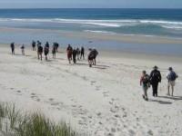 Onto beach. Selection: Dot .. Bob, Peter, Doug M, Les W, Lex