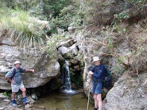 Small waterfall. Doug, George. (Hazel pic)