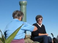 Evelyn Flagstaff summit pipe