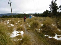 2. Looking back along Poleline track. (Ken pic and caption)
