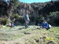 Lunch stop at Green Hut site. (Ken pic and caption)