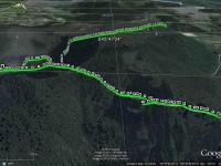 GPS of Cedar Farm tramp, courtesy Ken.