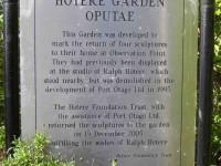Hotere Gardens. (John pic)