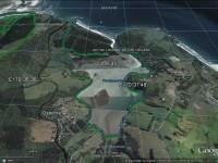 Purakanui Maori graves beach caves