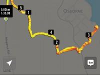GPS of McKessar trek