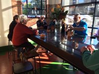 Social wind up at Roslyn Fire Station Coffee Culture.