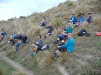 G.8th-- Lunch in the tussocks