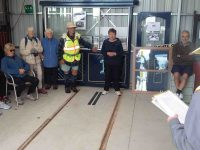 C.2 & 3) Lester explains the hopeful reintroduction of the tramsc