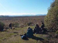 C.2) Morning tea overlooking the wetlandsc