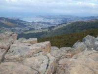 G.10th -- View of Dunedin from Buttars Peakc