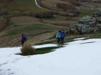 G.3rd -- Trampers break off from Hikers.Pretty steepc